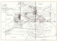 alte Karte von Wittenförden 1813